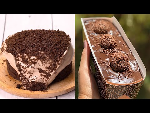 DIY Quick and Easy Chocolate Cake Recipe For Party   Amazing Cake Recipe Ideas
