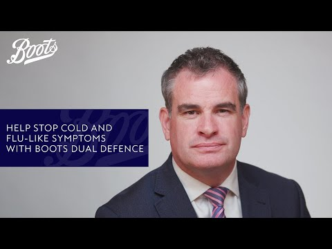 boots.com & Boots Discount Code video: Help Stop Cold and Flu-Like Symptoms with Boots Dual Defence | Boots UK