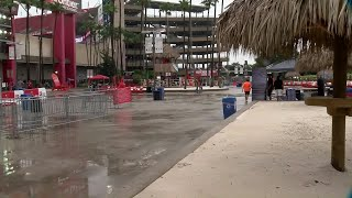 Fair weather fans? Rain keeps tailgaters away from Bucs preseason home opener