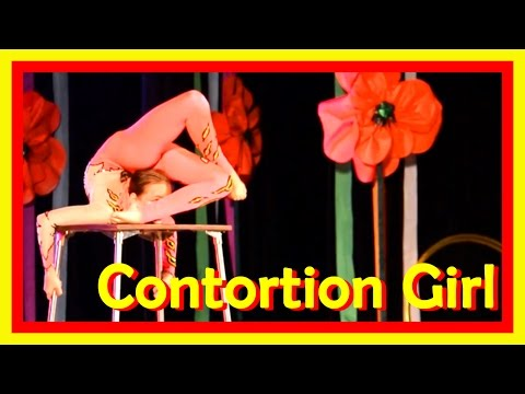 Extremely Stretched Girls Present Great Range Of Movements Required For Splits