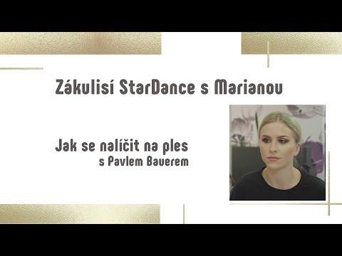 LÍČENÍ NA VÁNOČNÍ VEČÍREK | Mariana Pracharova #StarDance9