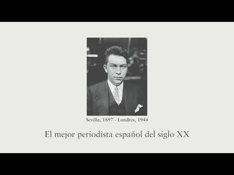 Vidéo de  Manuel Chaves Nogales