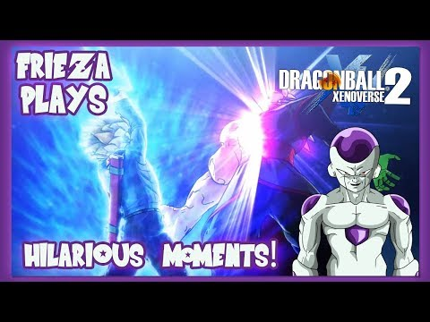FRIEZA PLAYS XENOVERSE 2! HILARIOUS MOMENTS!