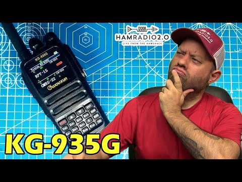 Wouxun KG-935G GMRS Radio | New GMRS Handheld Radio, WATCH