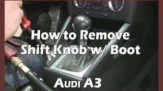 Smontare il pomello Audi A3 8P Automatico