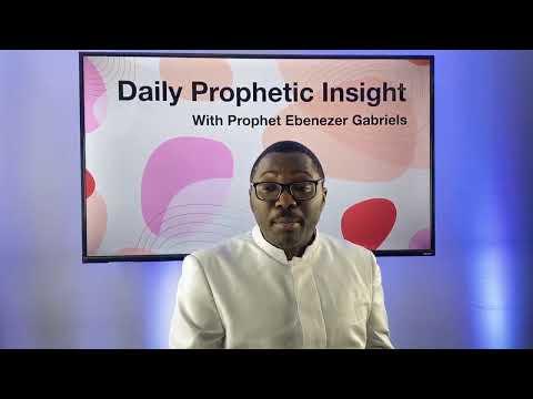 Prophetic Insights - Dec 26th, 2020