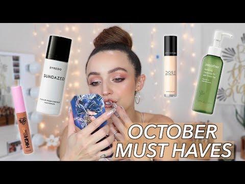 OCTOBER FAVORITES   2019 - best makeup of the month! - UC8v4vz_n2rys6Yxpj8LuOBA