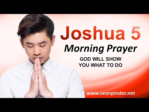 GOD Will SHOW You What to Do - Morning Prayer