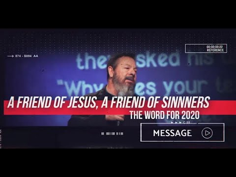January 12th - Destiny YUMA - A Friend of Jesus, A Friend of Sinners