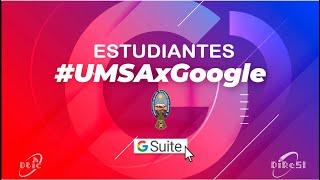 Enlaza tu cuenta con G Suite (Estudiante)