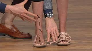Vionic Adjustable Slide Sandals - Misa on QVC