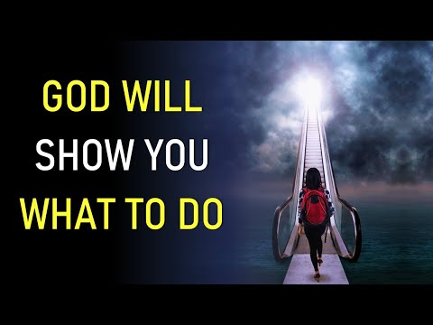 PSALM 25 - GOD WILL SHOW YOU WHAT TO DO (a timely word God gave me for you)