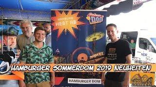 Hamburger Sommerdom 2019 Neuheiten | Funfair Blog #187 [HD]