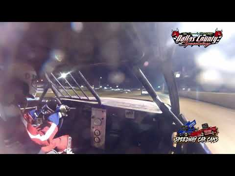 #2 Zack Williams - Pure Stock - 7-9-2021 Dallas County Speedway - In Car Camera - dirt track racing video image