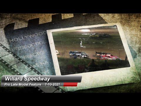 Willard Speedway - Crate Late Model - 7/10/2021 - dirt track racing video image
