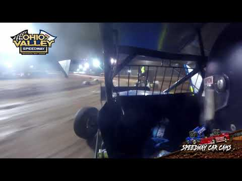 #00H Hunter Lynch - Ohio Valley Speedway 4-23-21 - Sprint Car - In-Car Camera - dirt track racing video image