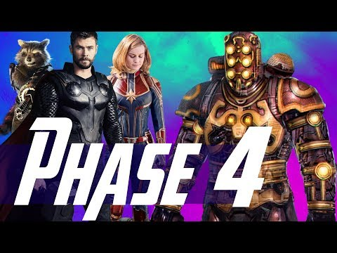 How Thor & Captain Marvel Set Up MCU Phase 4 & The Villain of Guardians of the Galaxy 3 - UCoChAH79CrZgLANZnEBDIfw