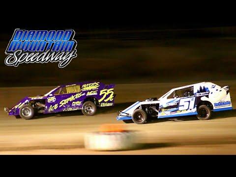 Diamond Mountain Speedway IMCA Northern SportMod Main Event 8/20/21 - dirt track racing video image