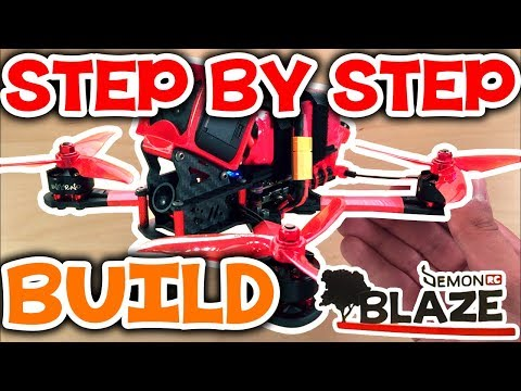 How to build a freestyle quadcopter in 15 steps (DRC BLAZE) - UCs-VrvrJ0INLJ8EXpWi61pw