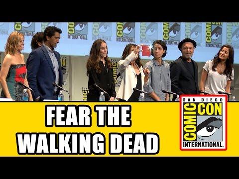Fear The Walking Dead Comic Con Panel - Cliff Curtis, Alycia Debnam Carey, Frank Dillane - UCS5C4dC1Vc3EzgeDO-Wu3Mg
