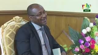 RTB/Le haut représentant de L'UA pour le Sahel Pierre Buyoya a été reçu par Christophe Dabiré