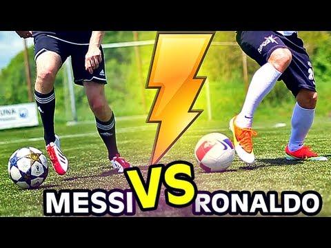 a9111c9c00e Ronaldo vs. Messi Boots  Mercurial Vapor 9 vs. F50 adiZero