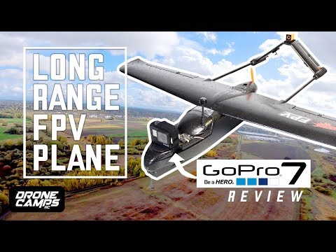 LONG RANGE FPV PLANE - $108 Skyhawk Fpv Plane - FULL REVIEW, FPV, and GOPRO HERO 7 Flights - UCwojJxGQ0SNeVV09mKlnonA