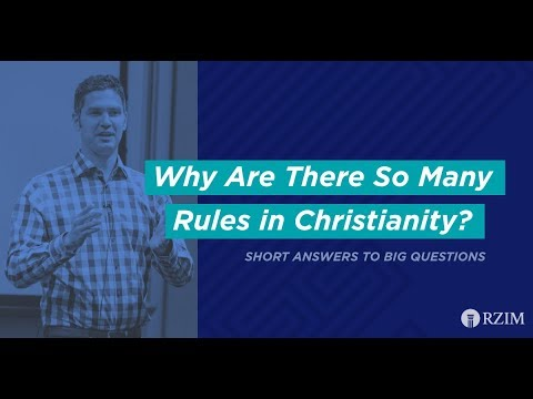 46. Why Are There So Many Rules in Christianity?