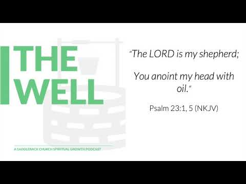 E13 Anointed (Psalm 23:1, 5)