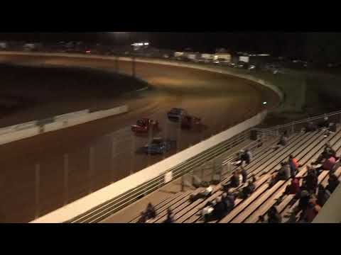 04/23/21 Mini Stock Heat Races @ Oglethorpe Speedway Park - dirt track racing video image