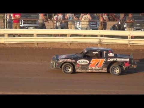Heats and Feature from Manitowoc Speedway - dirt track racing video image