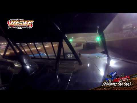 #14LP Logan Palmer - Dixie Speedway 5-1-21 - 604 Crate late Model - In-Car Camera - dirt track racing video image
