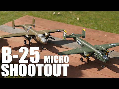 B-25 Shootout | Flite Test - UC9zTuyWffK9ckEz1216noAw
