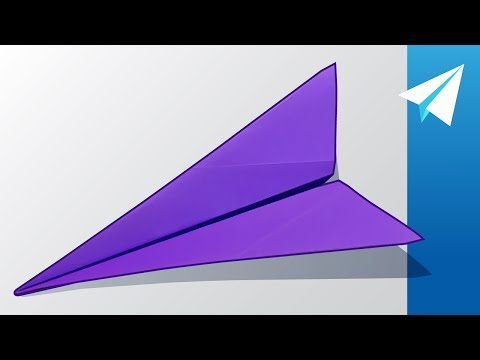 How to make long distance paper airplanes that fly