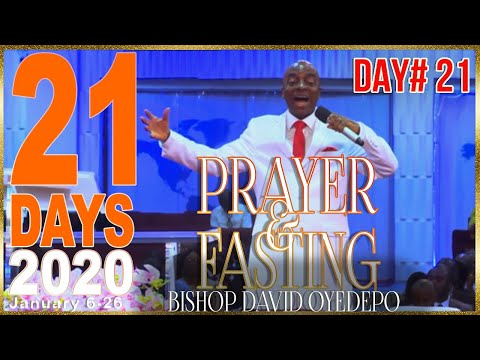 Bishop yedepo  21 Days 2020 [Day21] The Last Day