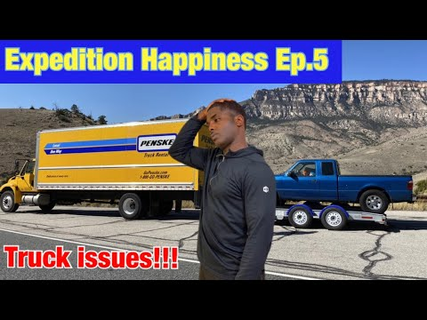 Expedition Happiness: Truck issues between Sheridan and Yellowstone National Park Ep.5 | PCS to JBLM