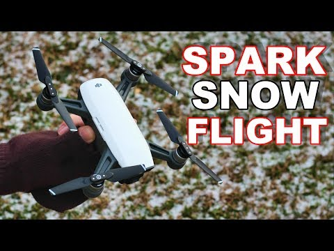DJi Spark in Strong Winds & Light Snow - Looking For the Lost Plane - TheRcSaylors - UCYWhRC3xtD_acDIZdr53huA