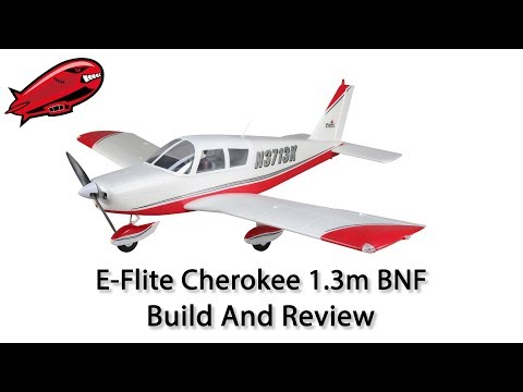 E-Flite Cherokee 1.3m BNF Build and Review