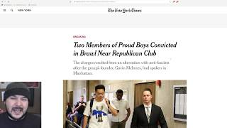 Two Proud Boys CONVICTED, Face 15 years In Prison Over Antifa Brawl