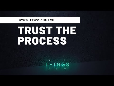 All Things New: Trust the Process