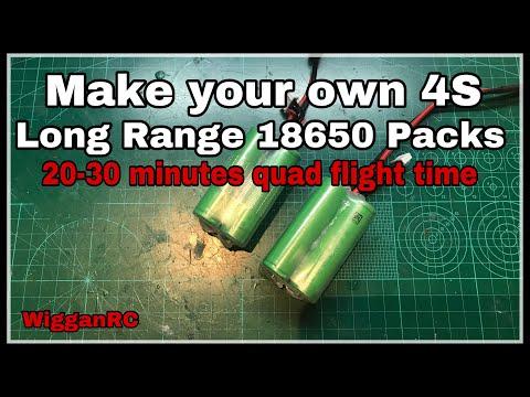 Long Range 18650 Battery Build for 30 min flight - UCvM1UL_2stBk0j-9Y8BjasA