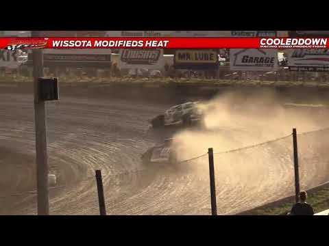 www.cooleddown.tv Prairie Classic, Modified and Late Models Highlights from Red River Co-op Speedway - dirt track racing video image
