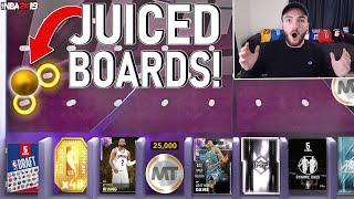 *NEW* JUICED TRIPLE THREAT BOARDS! FREE DUO & DRAFT PACKS + HIGH VALUE TOKENS & MT! (2K19 MYTEAM)