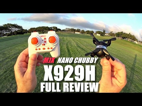 MJX X929H Chubby Nano Drone - Full Review - [Unboxing, Inspection, Flight Test, Pros & Cons] - UCVQWy-DTLpRqnuA17WZkjRQ
