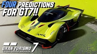 Four PREDICTIONS about GRAN TURISMO 7!! (Including WHEN!)