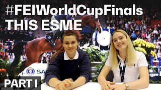 This Esme meets Olivia Towers at the #FEIWorldCupFinals in Gothenburg