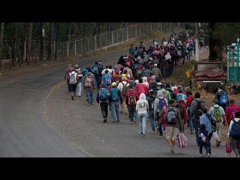 Thêm một đoàn di dân 'caravan' trên đường tới Mexico