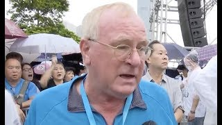 British National Expresses Indignation at Violence in Hong Kong