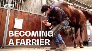 How to become a Farrier - The next generation of Horseshoe-Makers | Equestrian World