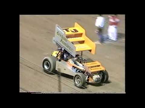 Sprintcars: 2000/01 Australian Title - A-Main - Archerfield Speedway - 10.02.2001 - dirt track racing video image